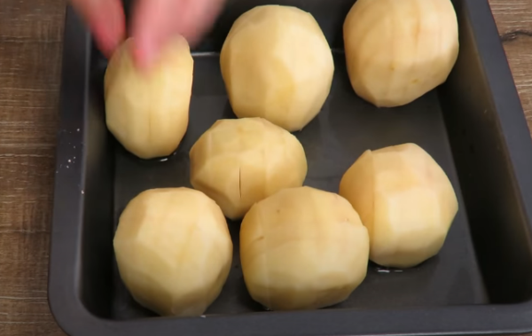 Устанавливаем картофель