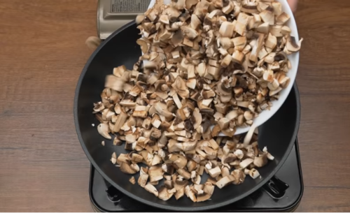 жарим грибы