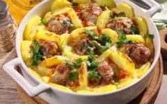 блюда из картофеля и фарша