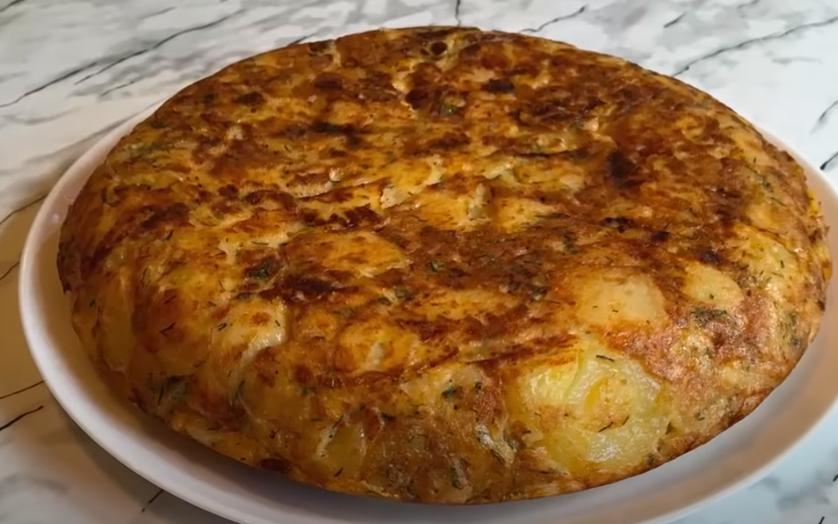 Картофельная тортилья по-испански